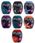 A00129 Dylon Fabric Dye Pods for Washing Machine - Full Colour Range